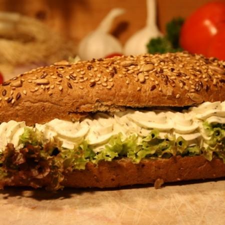 Broodje bieslookroomkaas bestellen